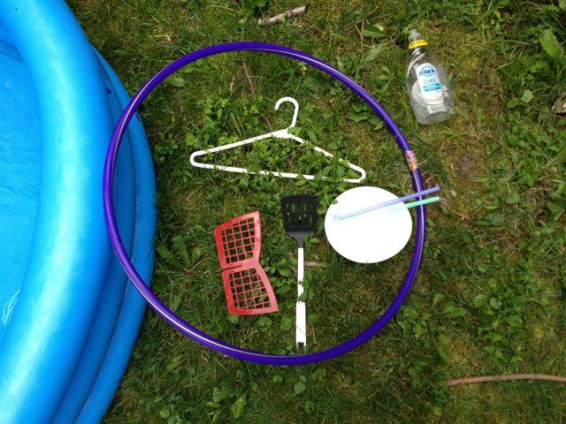 Bubble pool materials