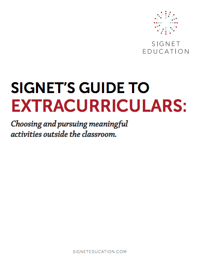 Signet's Guide to Extracurriculars