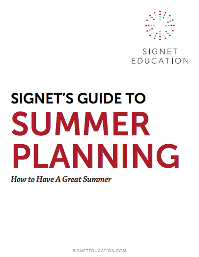 Signet's Guide to Summer Planning