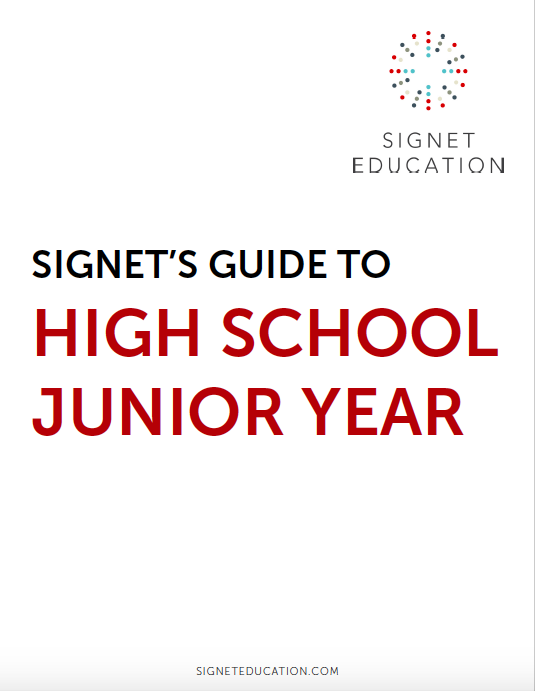 Signet's Guide to High School Junior Year