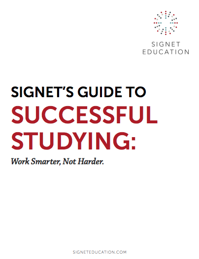 Signet's Guide to Successful Studying